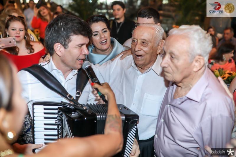 Waldonys, Adauto e Humberto Bezerra