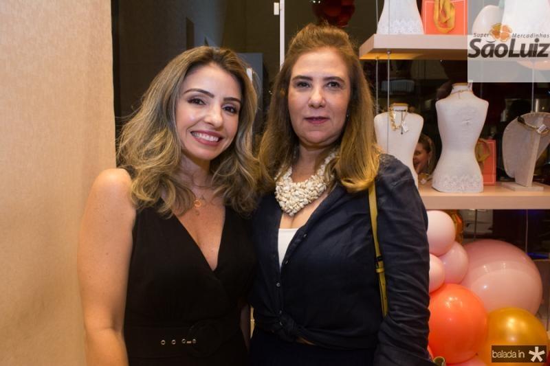 Daniela Peixoto e Joria Araripe
