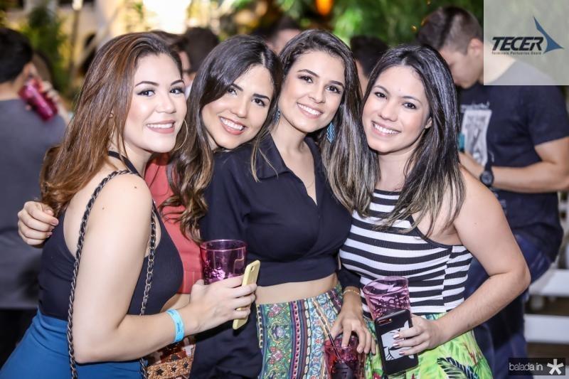 Mariana Pain, Leticia Albuquerque, Amanda Barreto e Gabriela Nunes