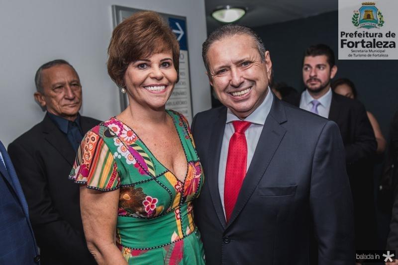 Patricia Guerra e Domingos Filho