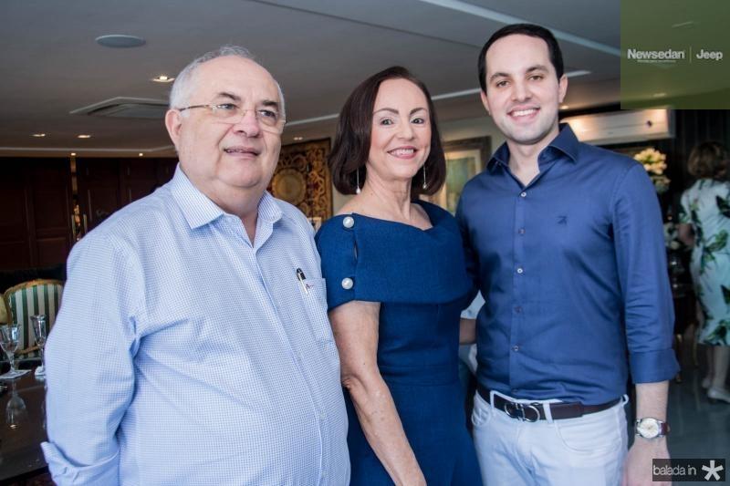 Filomeno, Goretti e Tomas Moraes