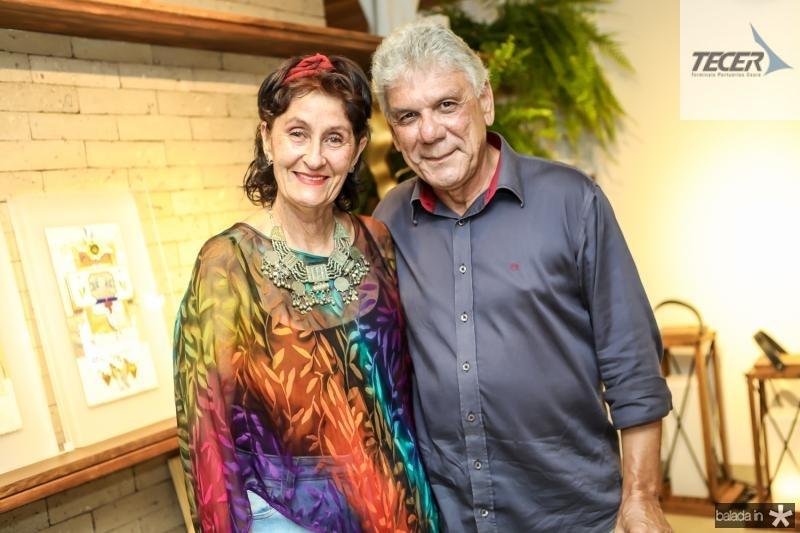 Beta Pinheiro e Ricardo Marinho
