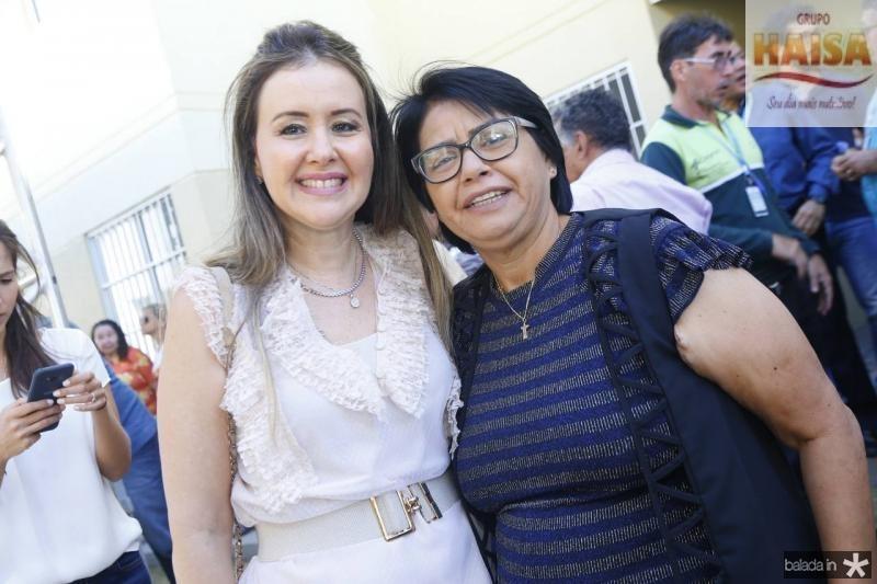 Liana Fujita e Olinda Marques