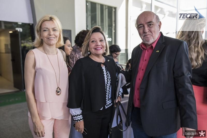 Cristina Pedroso, Fernanda Jensen e Hans Figaro