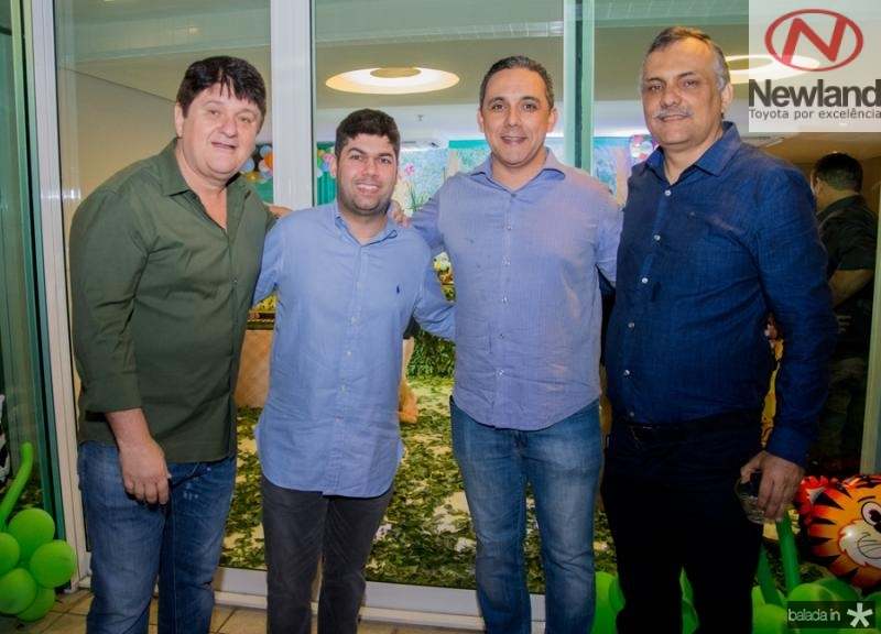 Afonso e Mauro Neto Benevides, Fernando Brigido e Alexandre Marques