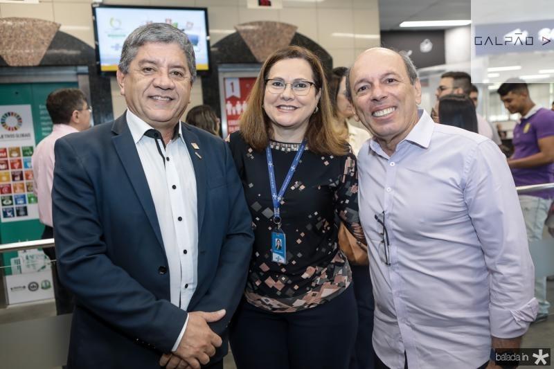 Sampaio Filho, Marta Campelo e Andre Montenegro