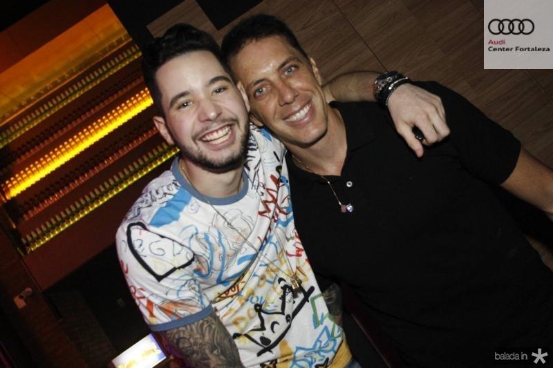 Luca Nobrega e Felipe Ribeiro