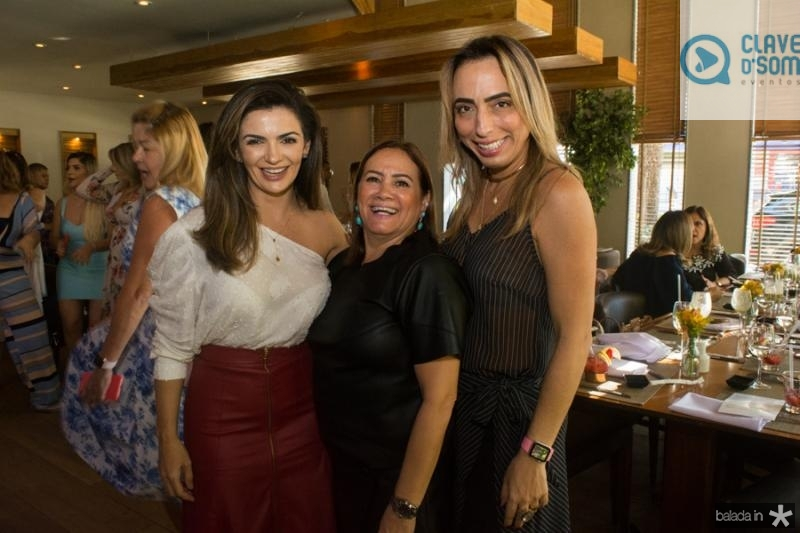 Monalisa Cavalcante, Cristina Albuquerque e Mabel Portela
