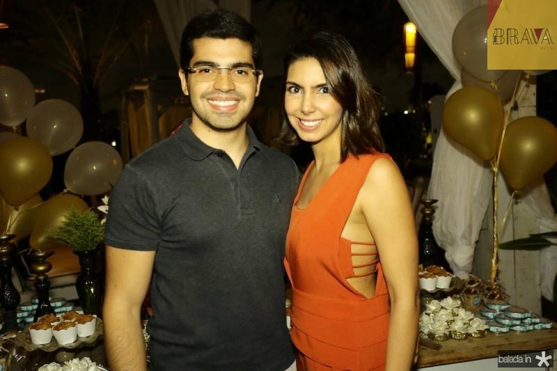 Pedro e Carla Laprovitera