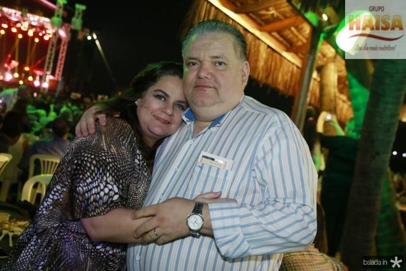 Eveline e Pedro Jorge Medeiros