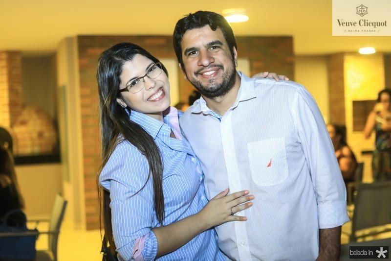 Samanta Melo e Lucas Alessandro