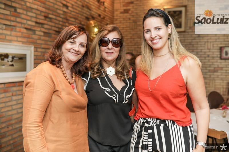 Patricia Siqueira, Joria Araripe e Mariana Queiroz