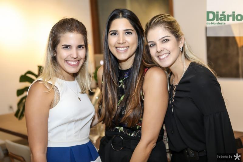 Maila Benevides, Lara Pouchain e Lelia Benevides