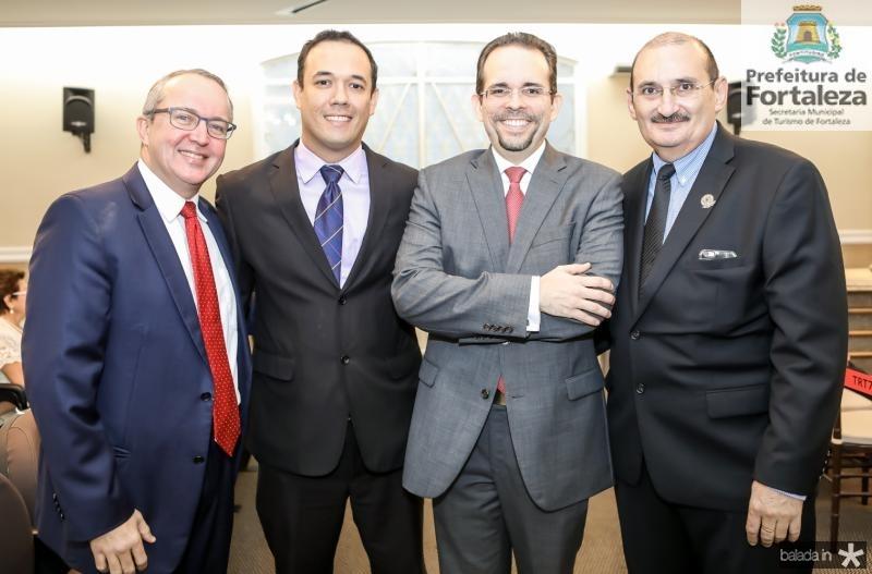 Tarciano Barros, Volney Limeira, Sergio Martins e Franze Gomes