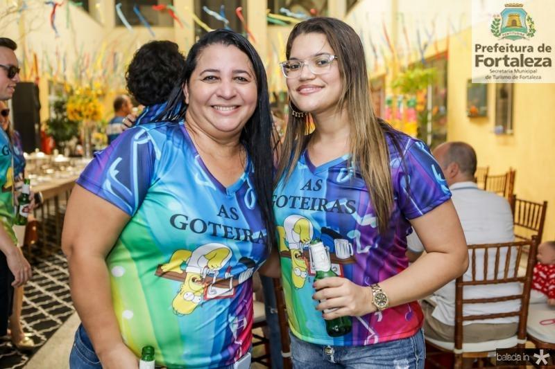 Alessandra Bezerra e Joana Darck