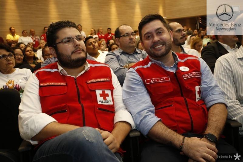 Allan Damasceno e Julio Cals