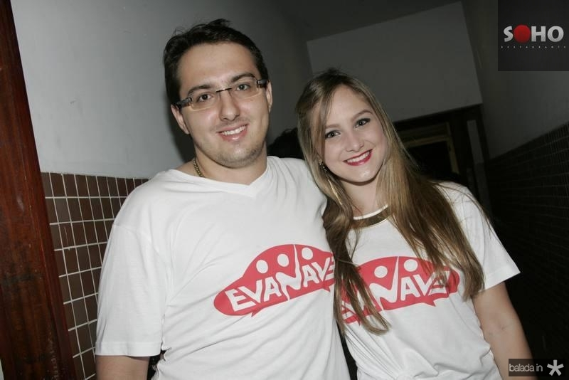 Adams Gomes e Larissa Benevides