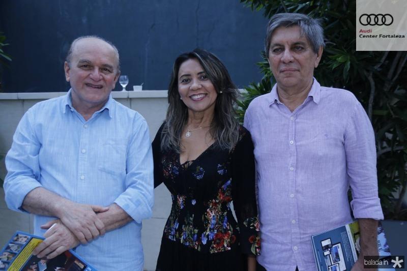 Chico Soares, Jose Lopes e Sabino Henrique