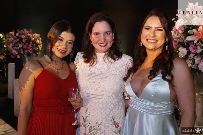 Juliana Alcoforado, Georgia Duca e Camila Nobre