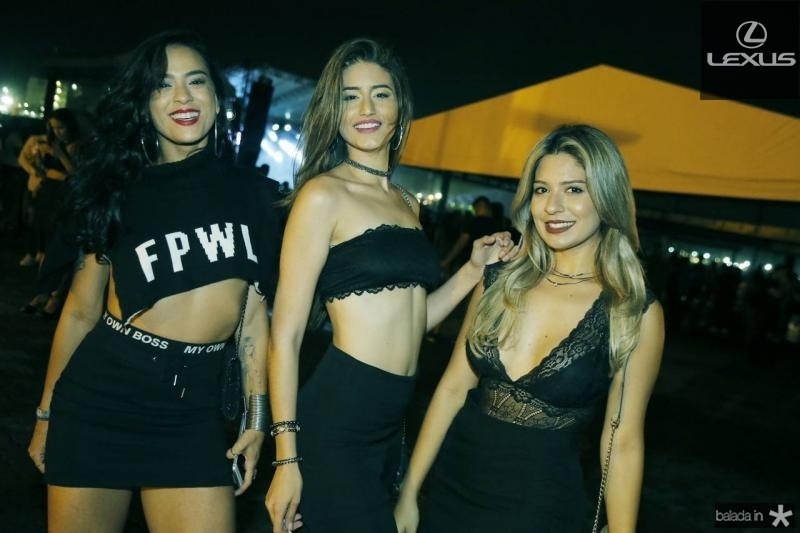 Mayara Fratele, Julia Marilia e Mayara Silva
