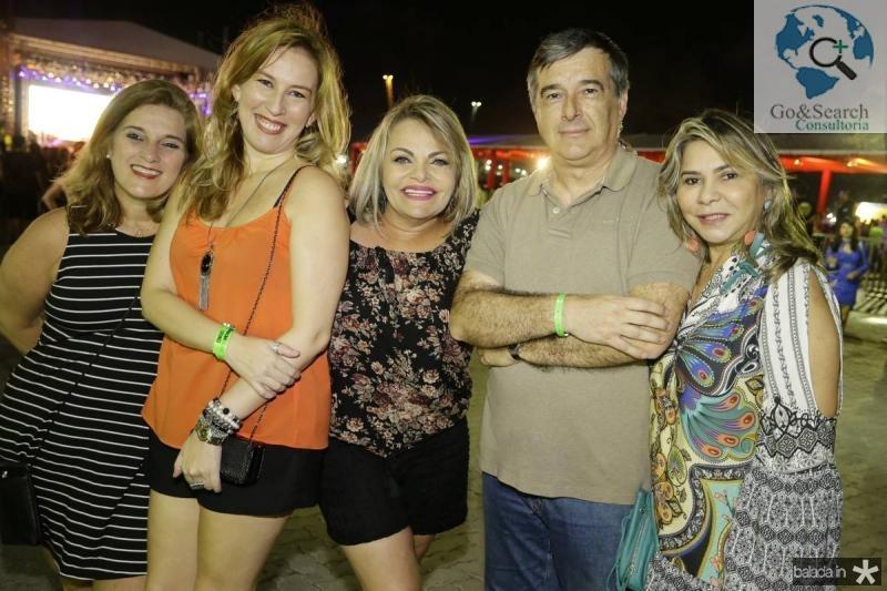 Lolo Aguiar, Maricia Barroso, Thea Moreira, Mario Lucas e Netinha Gomes
