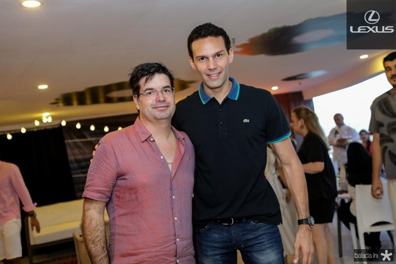 Andre Pires e Marcio Canamary