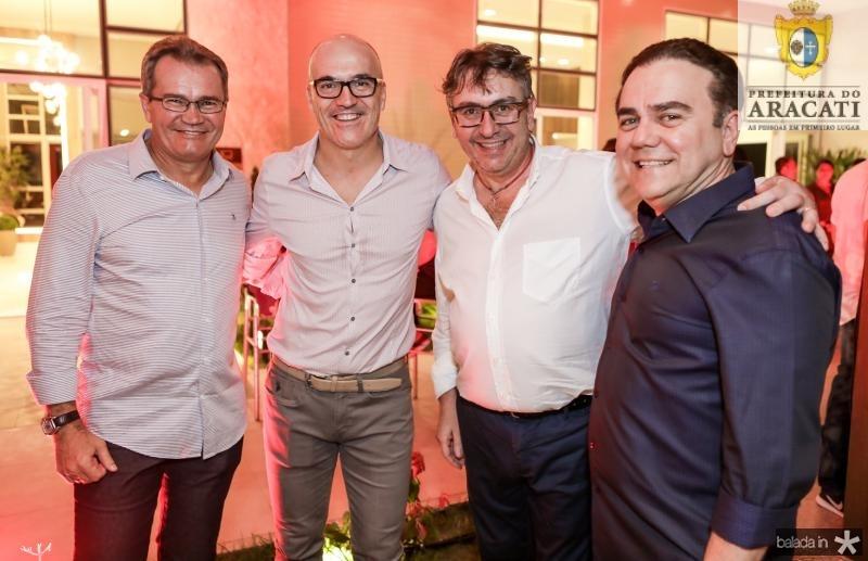 Sergio Macedo, Mario Binatti, Enrico Cambacurta e Fernando Linhares