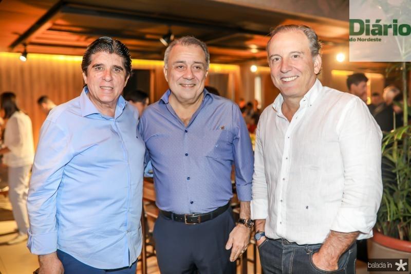 Dito Machado, Adauto Junior e Binho Bezerra