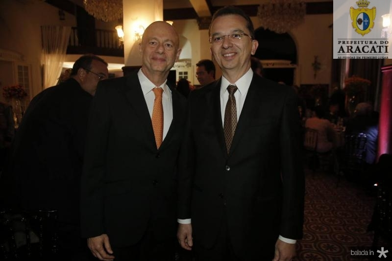 Demetrio Jereissati e Marco Oliveira