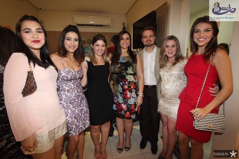 Nayana do Vale, Camila Rodrigues, Vanessa Queiroz, Ticiane Bezerra, Valderi Vieira, Olga Saraiova e Aline do Vale