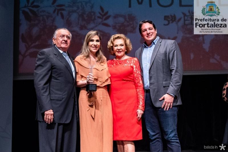 Joao Carlos Paes Mendonca, Denise Sahd, Auxiliadora Paes Mendonca e Marcelo Filho