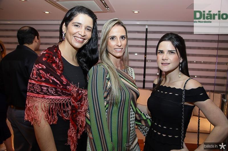 Manuela Ferreira, Patricia Lima e Marilia Vasconcelos