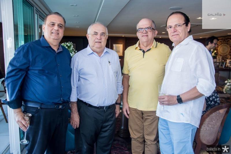 Max Câmara, Filomeno Moraes, Fernando Ximenes e Orlando Fonseca