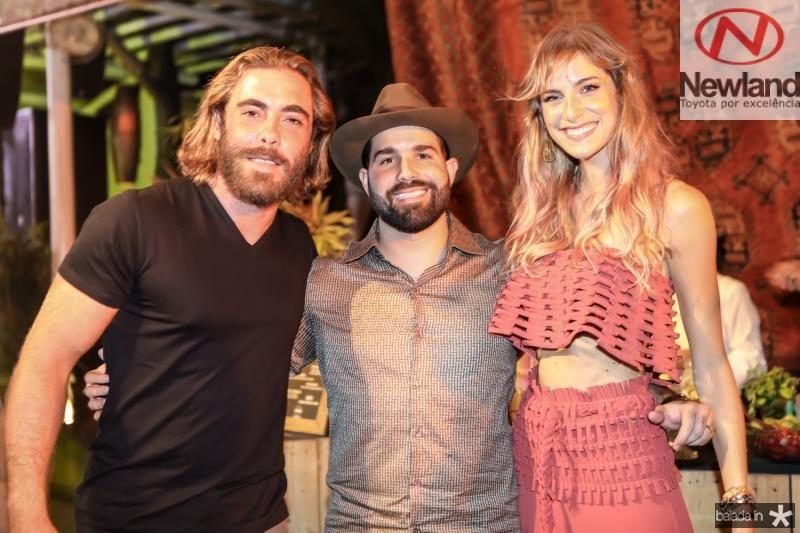 Andre Montenegro, Felipe Rocha e Dani Gondim