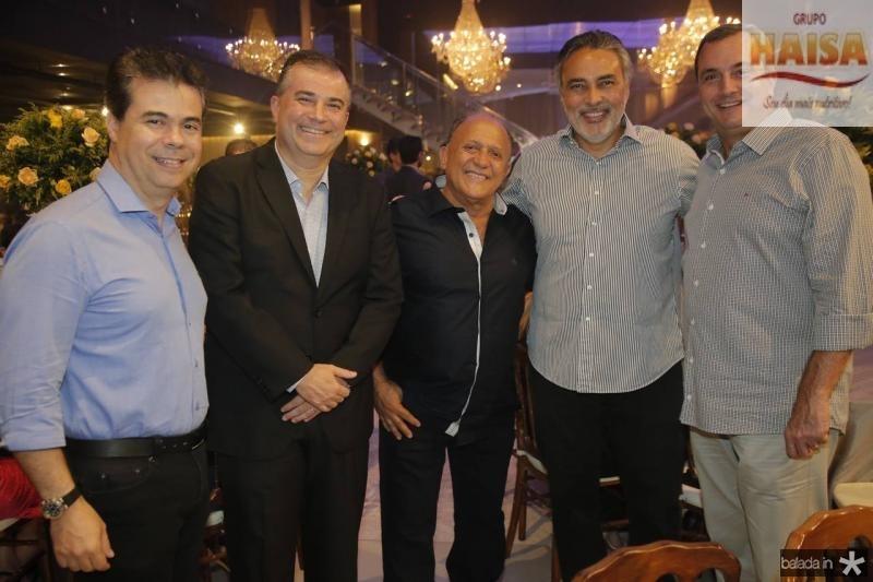 Duda Brigido, Ricardo Bezerra, Erivaldo Alves, Paulo Angelim e Kalil Otoch