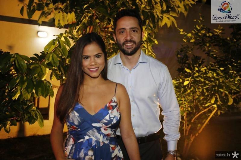 Raquel Bastos e Cicero Santiago