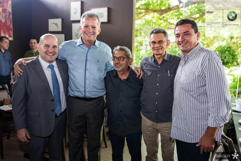Roberto Claudio, Andre Figueiredo, Davi Tolera, Francisco Soares e Rubinho