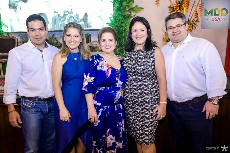 Kaka, Patriciana, Auricelia, Rosilandia e Mario Queiros