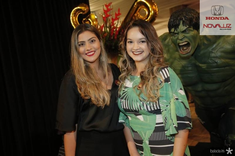 Leticia Lima Verde e Gabriela Adriano