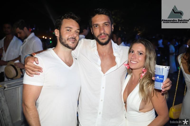 Fernando Goddo, Tarik Taha e Ana Taha