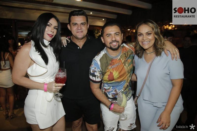 Marcinha Feite, Isaias Duarte, Xande Timoteo e Samira Show