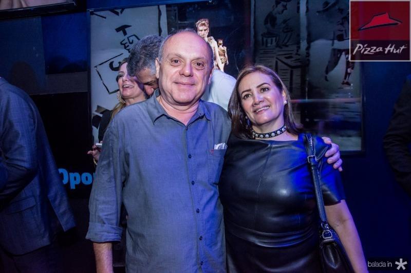 Aquiles Gomes e Cris Albuquerque