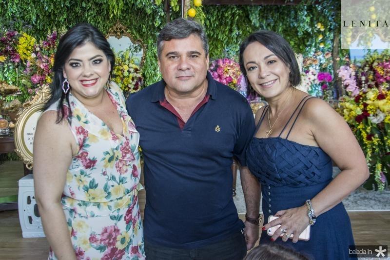 Viviane Almada, Nilson Fernandes e Ticiana Almada