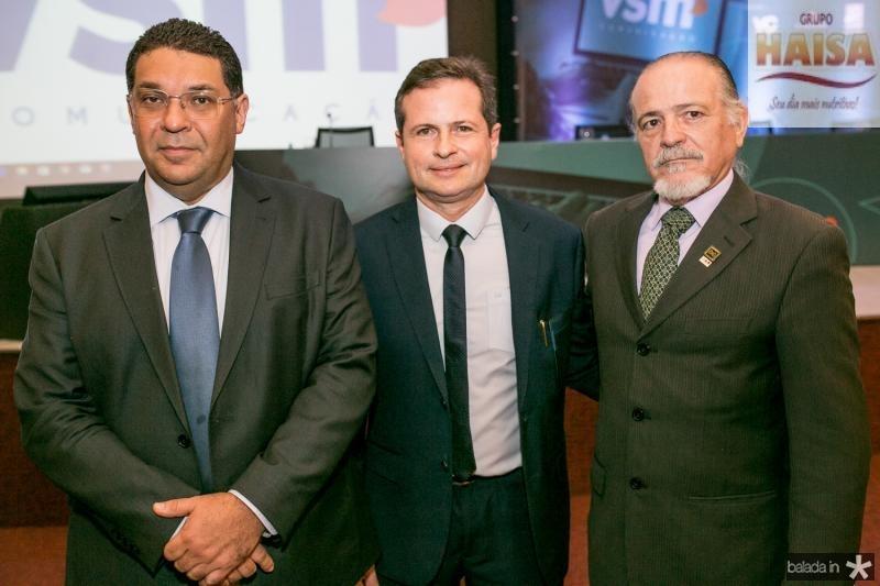 Mansueto Almeida, Andre Borges e Reginaldo Vasconcelos