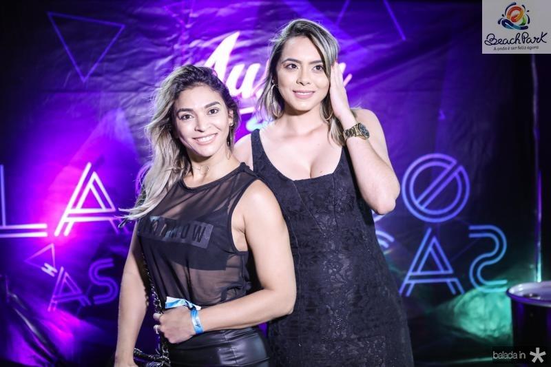Samara Marinho e Leide Costa