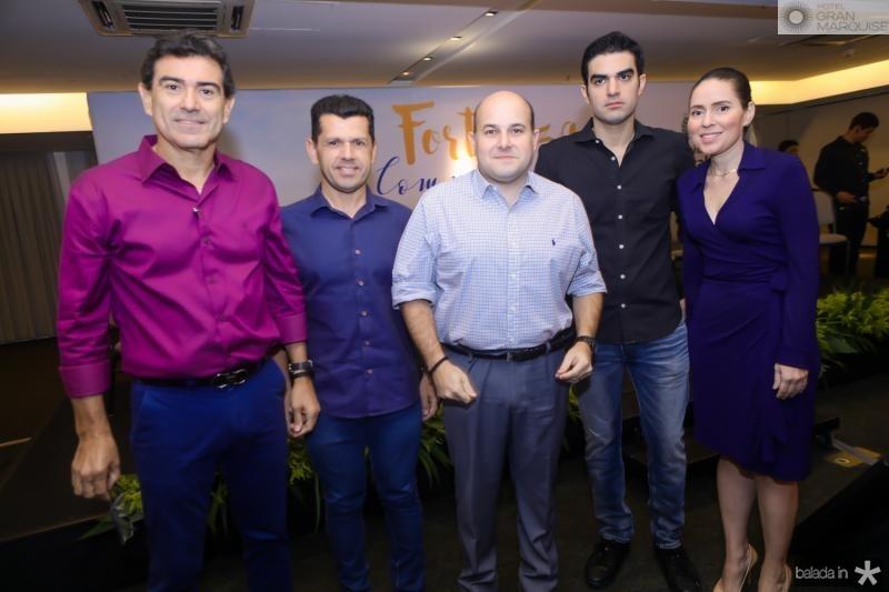 Alexandre Pereira, Erick Vasconcelos, Roberto Claudio, Rodrigo Nogueira e Agueda Muniz