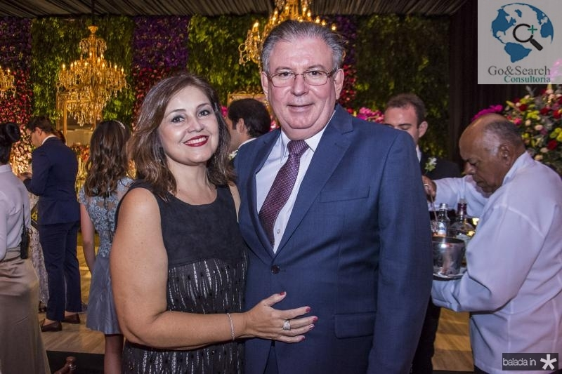 Rosangela Cavalcante e Ricardo Cavalcante
