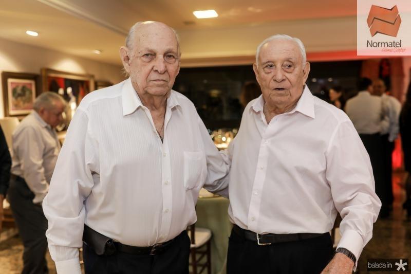 Gen Gazineu e Adauto Bezerra