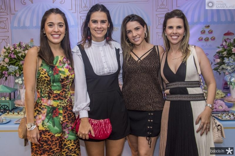 Elba Fontenele, Debora Bandeira, Lina Ponte e Aline Ferreira Gomes