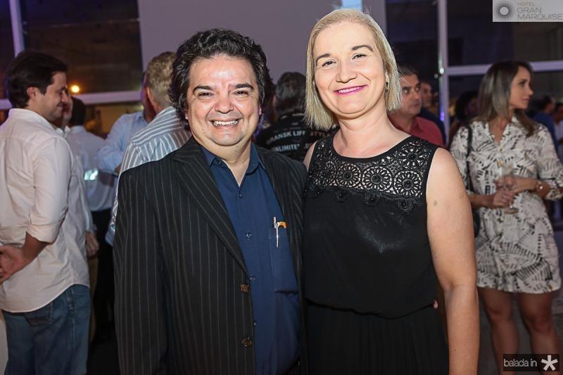 J Pompilio e Liduina Alcantara